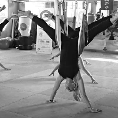 yoga fly flying pilates