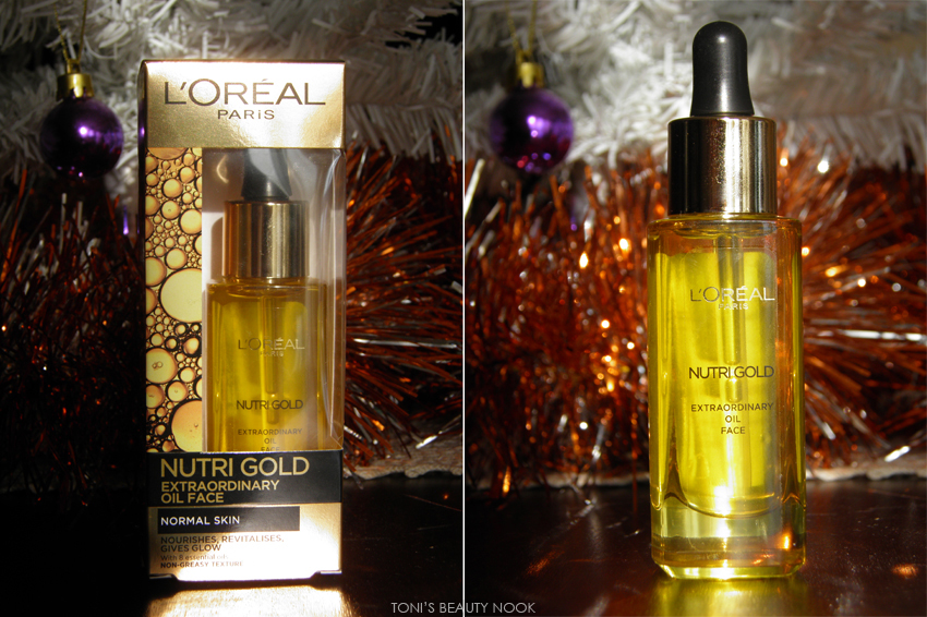 loreal nutri gold extraordinary oil
