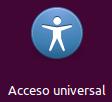 Acceso universal icono