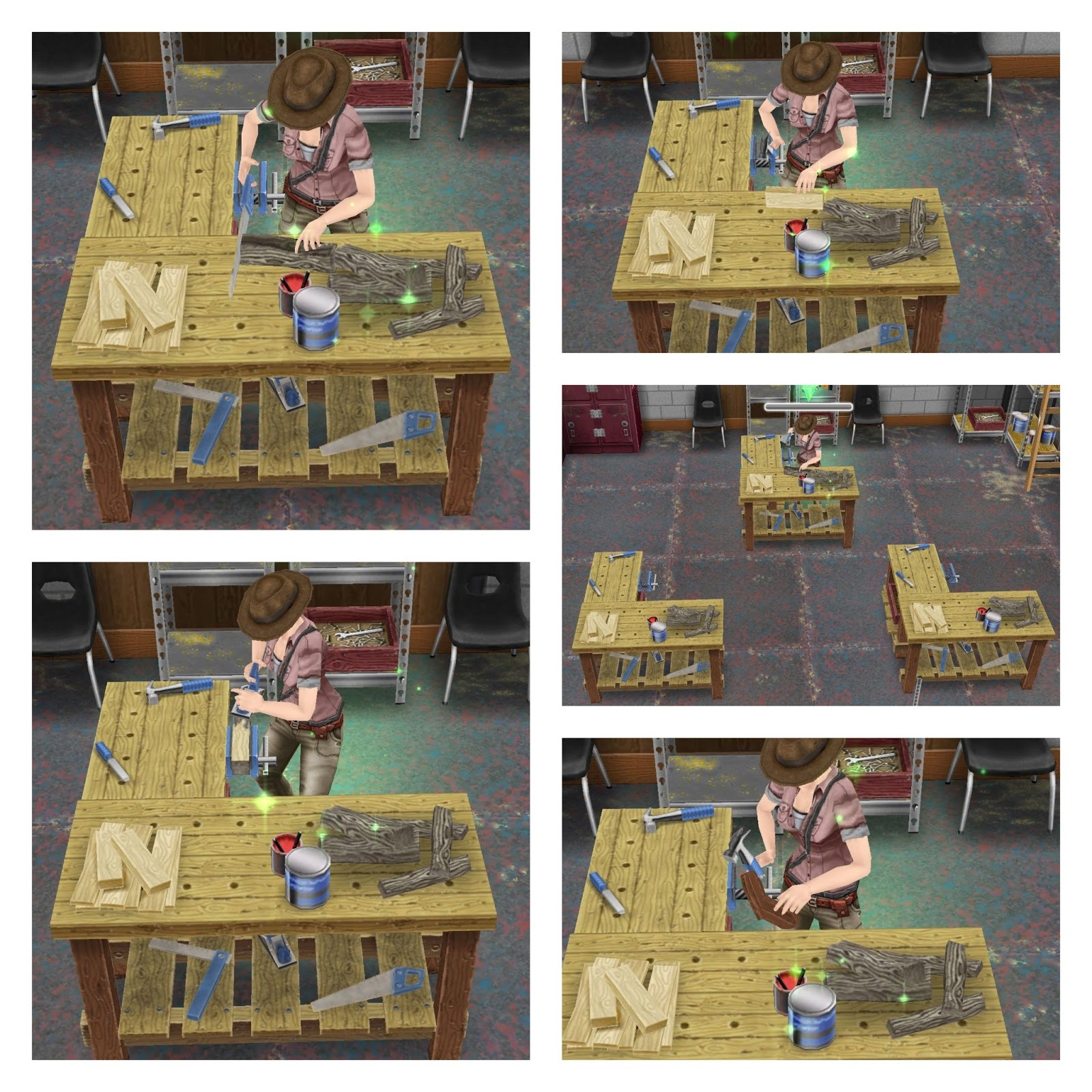 diy woodworking project: woodworking bench sims