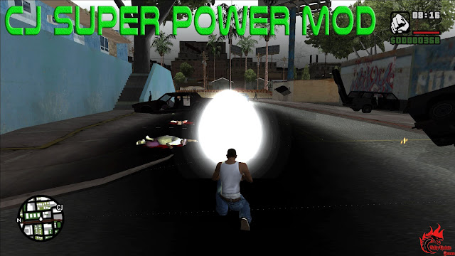 GTA San Andreas Cj Super Power Mod