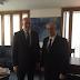 Büyükelçimiz Sayın Kerim Uras, Uluslararası Ekonomik İlişkilerden Sorumlu Yunanistan Dışişleri Bakan Yardımcısı Dimitris Mardas'ı 16 Şubat'ta ziyaret etmiştir.