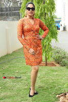 Actress Mumtaz Sorcar Stills in Short Dress at Guru Movie Success meet  0214.JPG