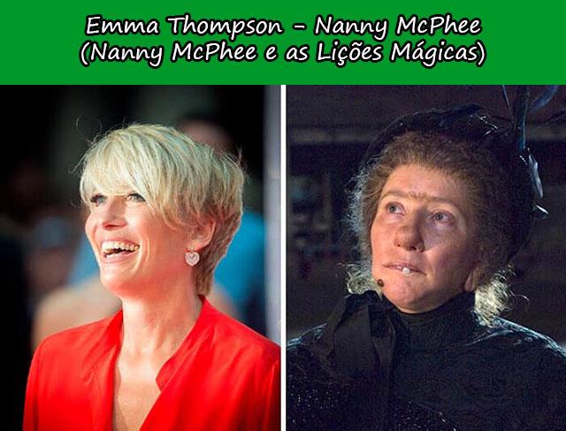 Emma Thompson - Nanny McPhee (Nanny McPhee e as Lições Mágicas)