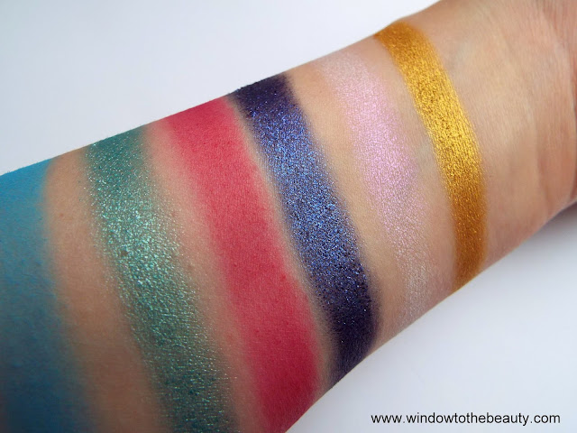 BPerfect eyeshadows formula review
