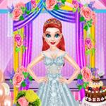 لعبة تلبيس ملابس الزفاف