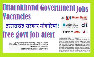 Uttarakhand Government Jobs