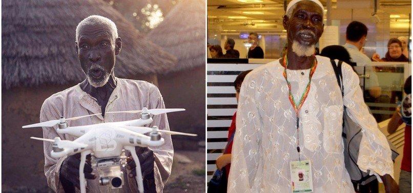 NDEGE NDOGO (DRONE) YAMPELEKA MZEE WA GHANA KUHIJI MAKA