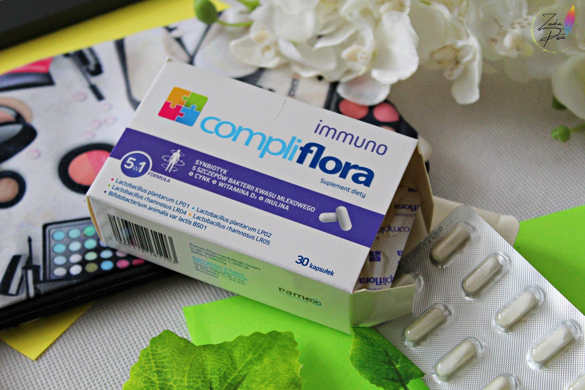 Compliflora Immuno - synbiotyk wspierający odporność organizmu