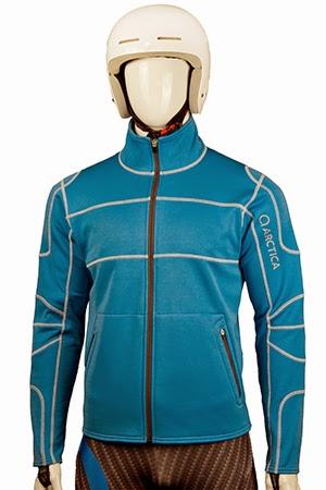 arctica race layer fleece blue image
