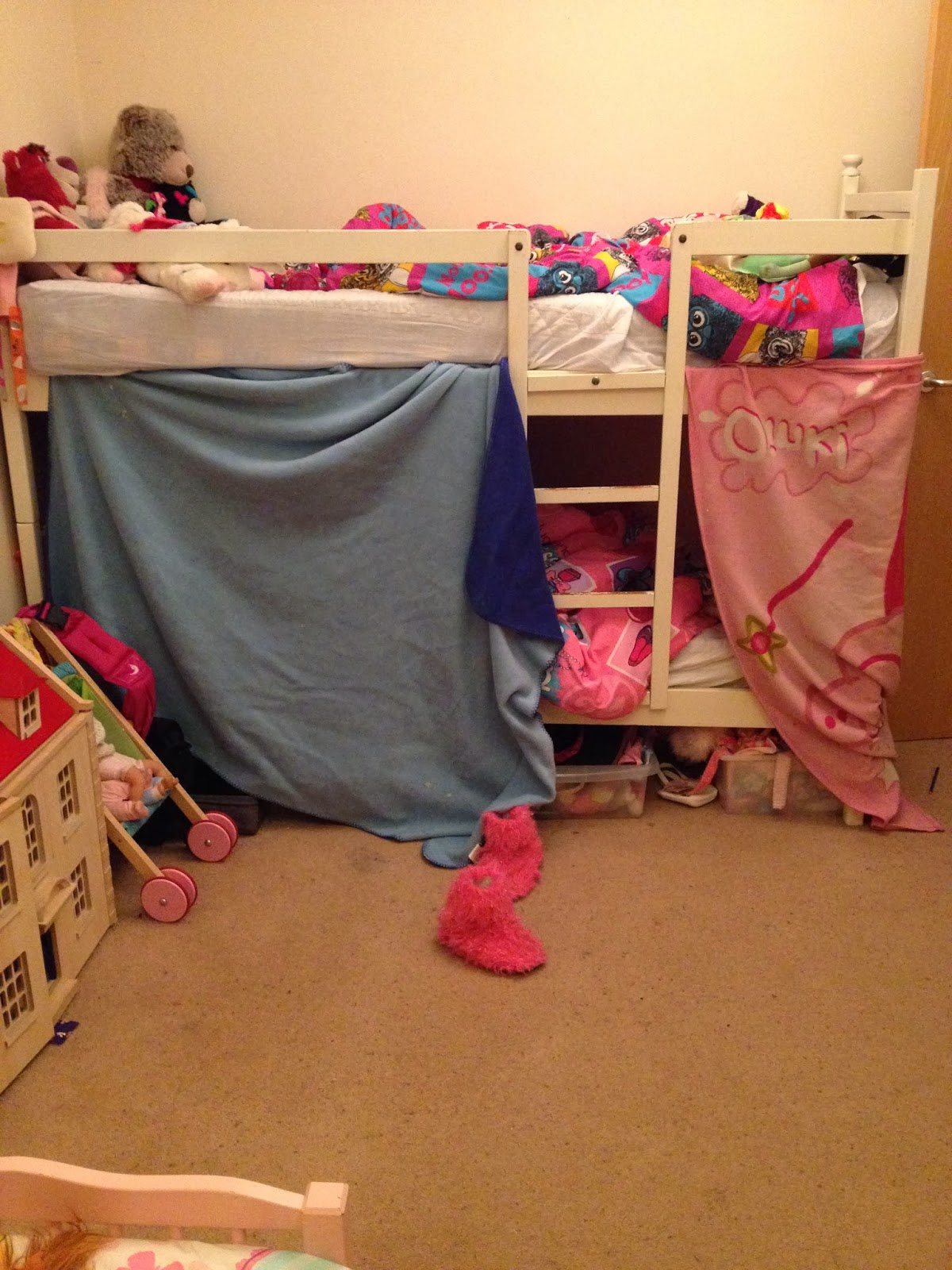 bunk bed den