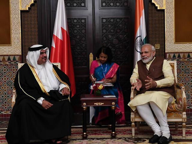 कोविड-19 पर प्रधानमंत्री ने बहरीन के सुलतान से टेलीफोन पर की बातचीत