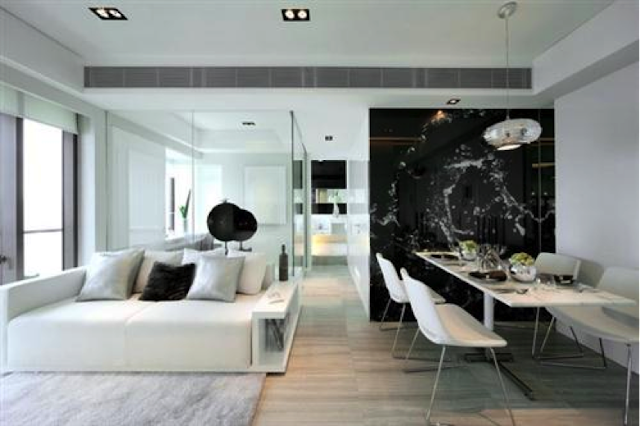 Imagens sala decoração preto e branco