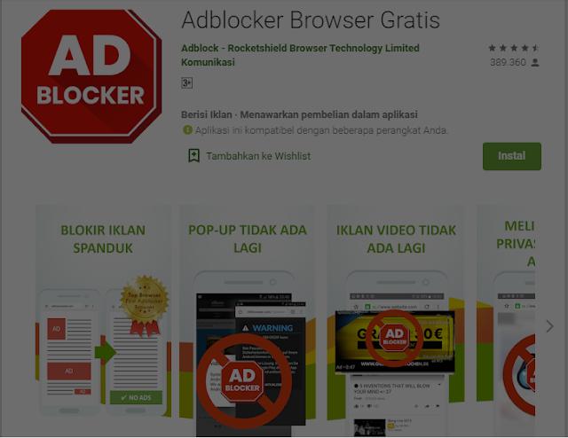 5 Aplikasi Blokir Iklan di HP Android 3