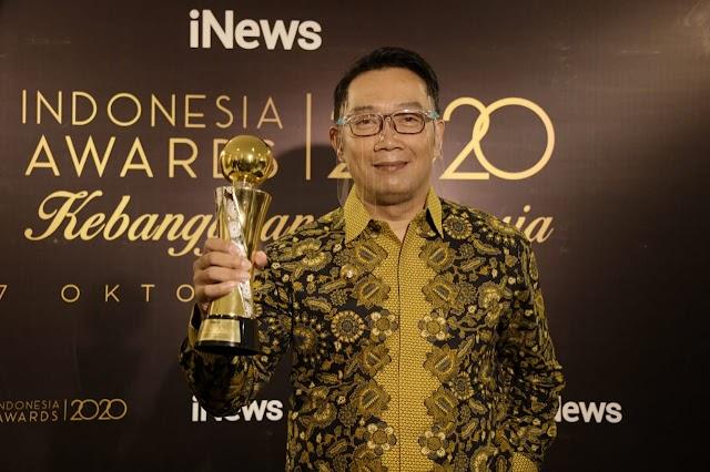 Indonesia Awards 2020,  Jabar Raih Penghargaan Bidang Pariwisata dan Ekonomi Kreatif