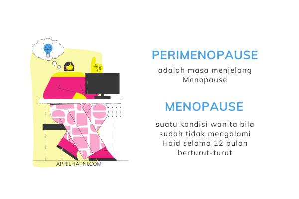 perbedaan perimenopause dengan menopause