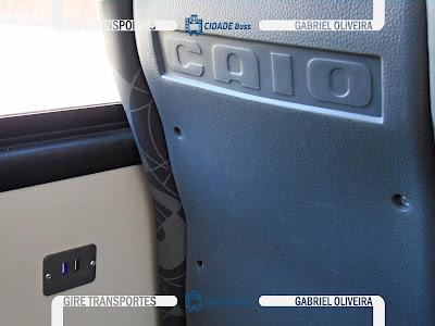 Foto entrada usb ônibus