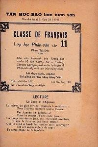 Lớp Học Pháp Văn Tập 11 - Phạm Tất Đắc