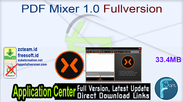 PDF Mixer 1.0 Fullversion