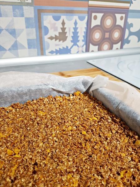 Barritas de cereales caseras