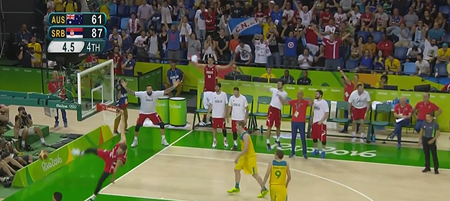 Serbia vs. Australia - SEMIS Full Highlights (VIDEO) Rio Olympics 2016 - Basketball
