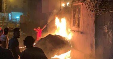 عاجل | مقتل شخصين وإصابة آخرين فى انفجار خزان وقود ببيروت