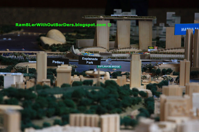 Focus on Marina Bay Sands, City Centre Model,  Singapore City Gallery, Singapore