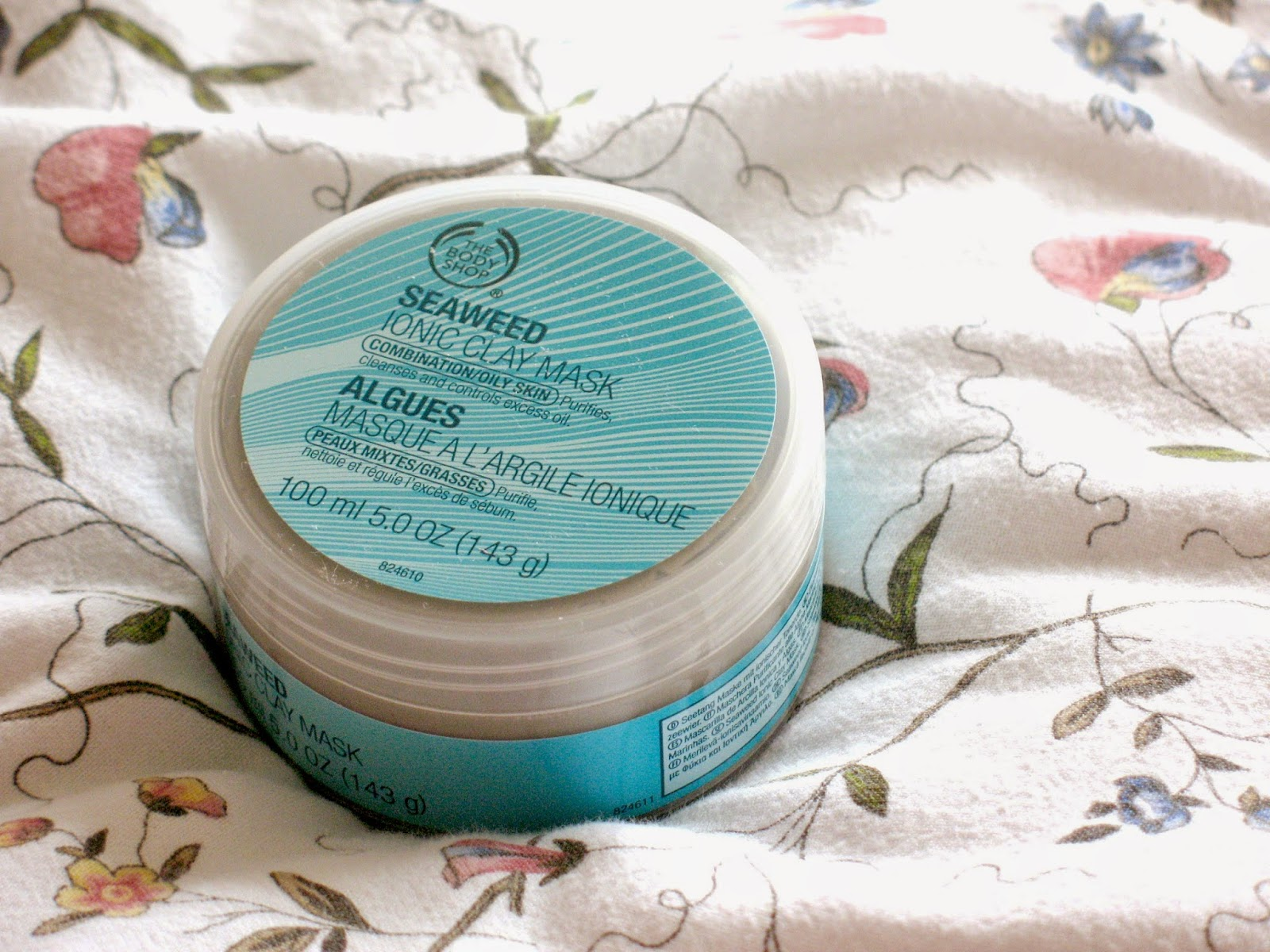 The Body Shop Seaweed Ionic Clay Face Mask