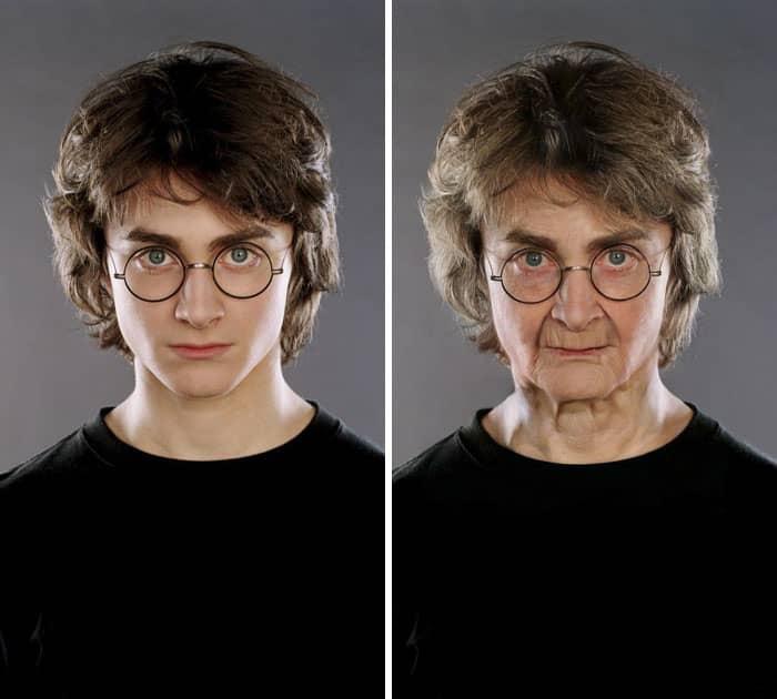 صورتي وانا عجوز, صورتك وانت كبير, تحي الشيخوخة ,تطبيق تحدي الشيخوخة,تحدي العمر