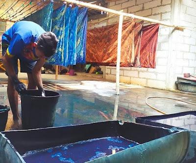 Desa Batik Tegalrejo: Menyempurnakan Pancaran Pesona Batik dengan Hadiah dari Alam