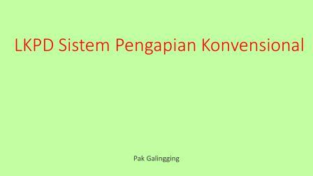 LKPD Sistem Pengapian Konvensional XI TKRO