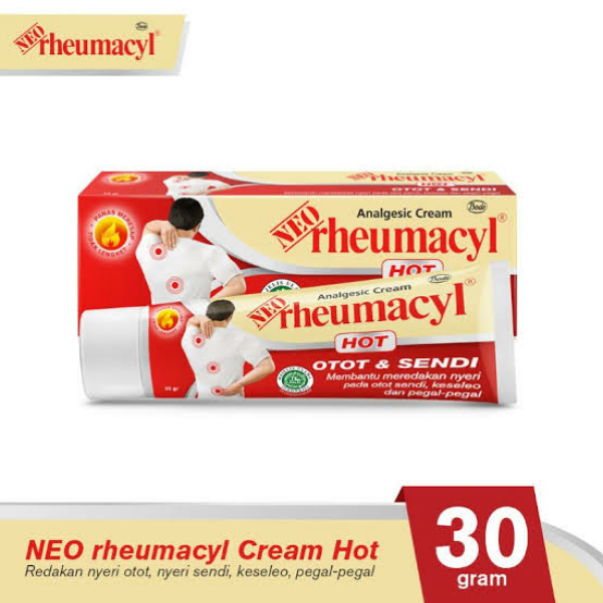 Fungsi, Aturan Pakai dan Efek Samping Neo Rheumacyl Cream