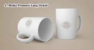 Souvenir Mug adalah Media Promosi Yang Efektif