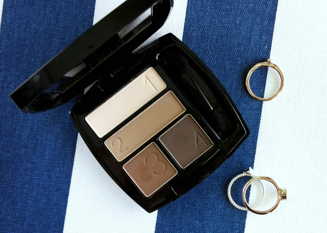 Avon True Color Matt Eyeshadow Quad in Au Naturale