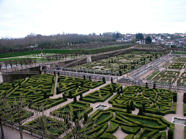 Gardens of the Chateau of Villandry, Indre et Loire, France. Photo by Loire Valley Time Travel.