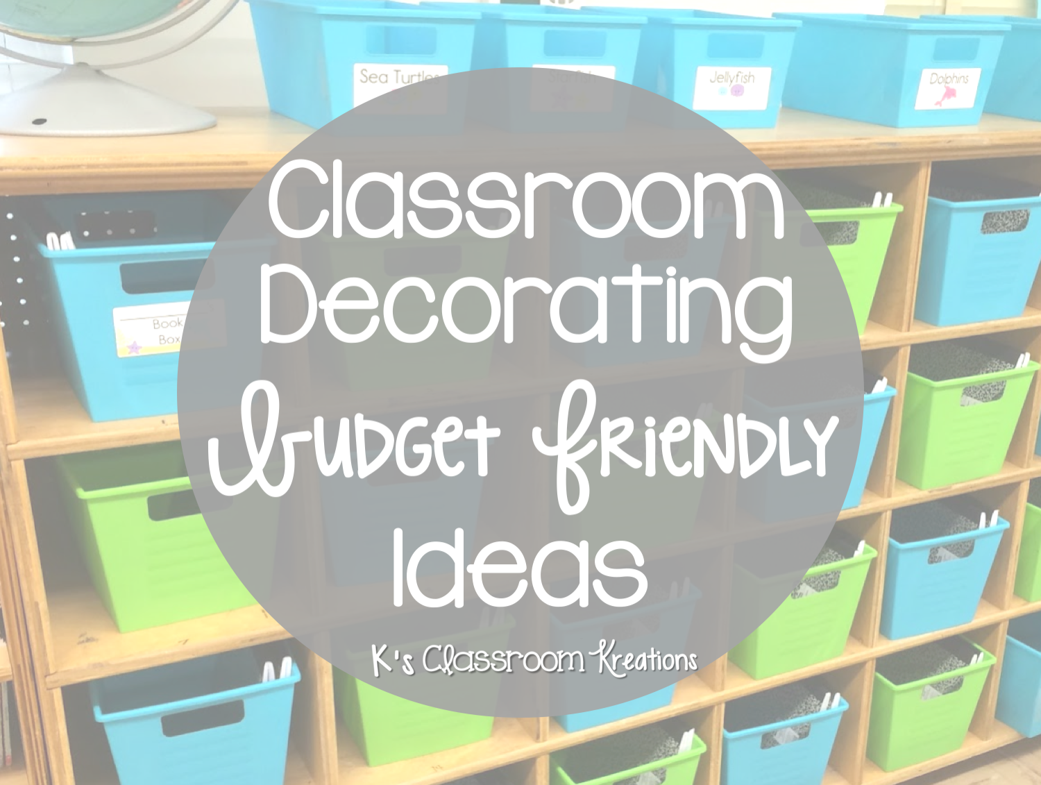 Hello! I am excited to be linking up with Dirt Road Teacher for her series geared toward beginning teachers. Over the past few years I have had the ... & Budget Friendly Classroom Decorating Ideas | Ku0027s Classroom Kreations