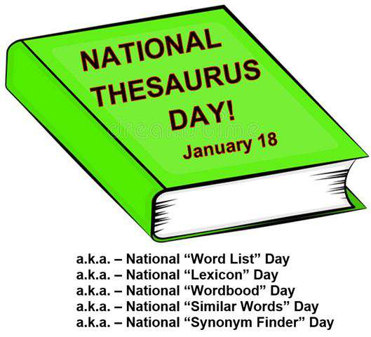 National Thesaurus Day Wishes Sweet Images