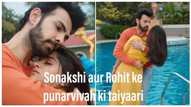 Future Story : Nishi instigate Veena to get Rohit remarried in Kahaan Hum Kahaan Tum