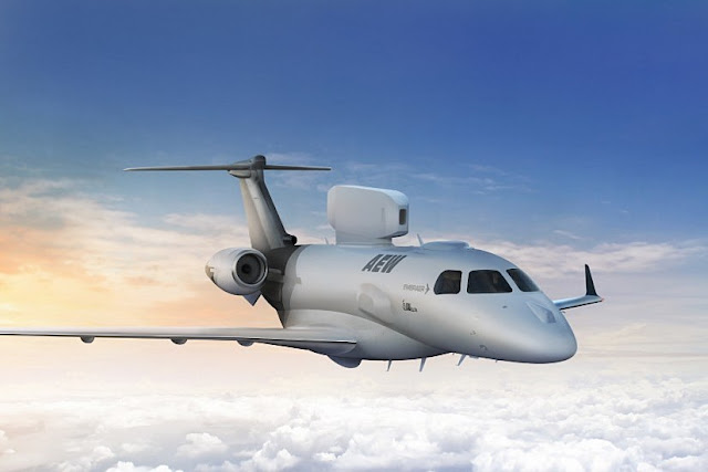 Embraer ELTA launch P600 AEW