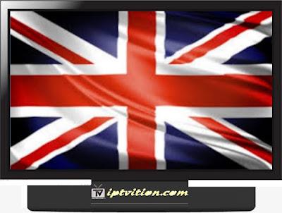 IPTV England m3u channels GRATUIT