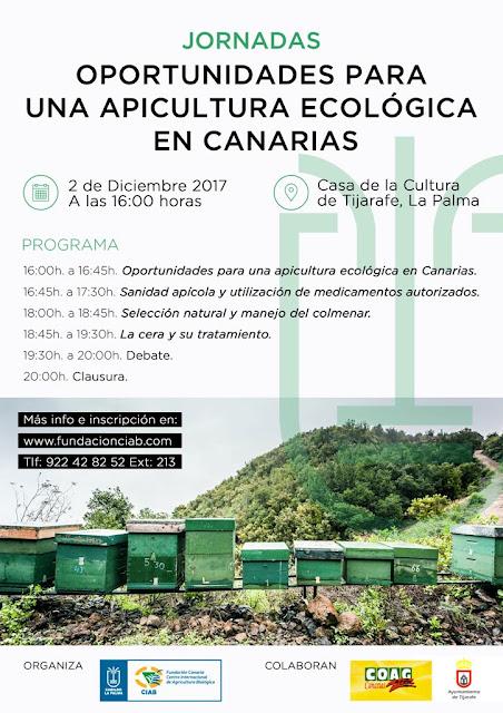 ESPAÑA: JORNADAS DE APICULTURA ECOLÓGICA EN CANARIAS.