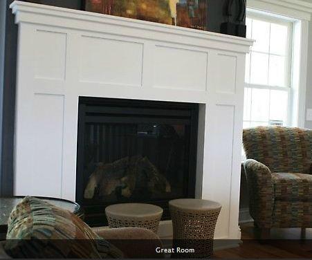de Jong Dream House: Fireplace design final!