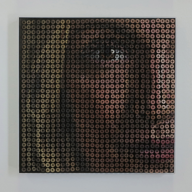 11-Portrait-Andrew-Myers-Sculpture-Paintings-Accomplished-using-Screws-www-designstack-co