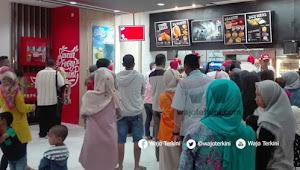 KFC Sengkang Launching, Langsung Diserbu Pengunjung Sallo Mal