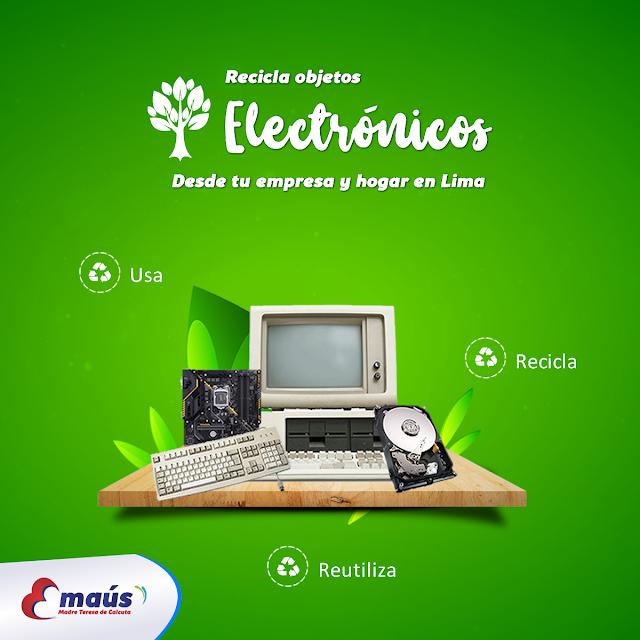Reciclaje de objetos electrónicos