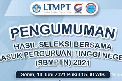 Cara Cek Hasil Pengumuman SBMPTN 2021