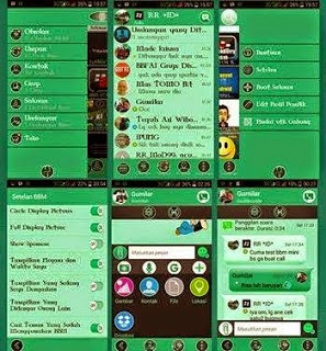 BBM2 Mod Material Green Full V2.8.0.21 (Dual BBM)