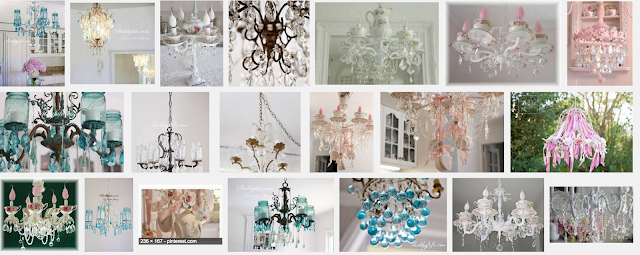 chandeliers with crystals that you can make