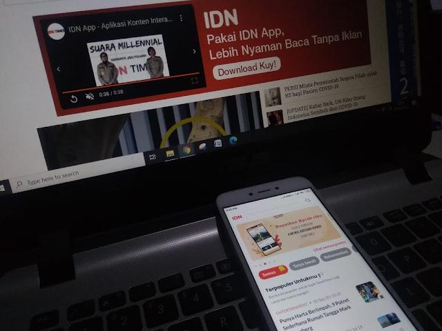 aplikasi idn app by idn media
