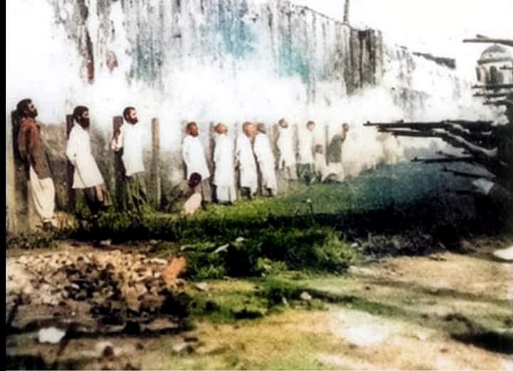 Foto Muslim India yang Dieksekusi Mati Karena Menolak Melawan Ottoman